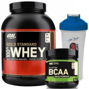Optimum Gold Standard Whey + BCAA 5000 + Shaker
