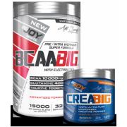 Bigjoy Sports BCAABIG 544g - Creabig Powder Aromasız 120g Hediyeli