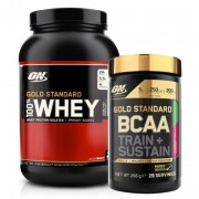 Optimum Gold Standard Whey 908gr + Optimum Gold Standard BCAA 266gr