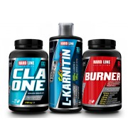 Hardline CLA One + L-Carnitine Thermo + Burner