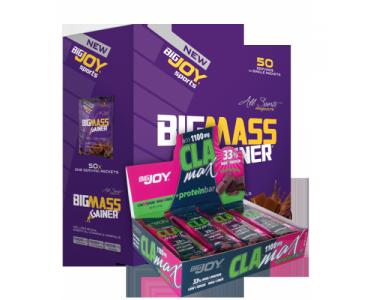 Bigmass 50'li  + 12 adet CLAMAX Protein Bar Hediyeli
