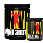 Universal Amino 3001 160 Tablet  + Creatine Powder 120 gr