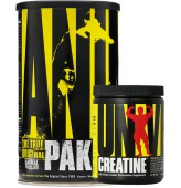 Universal Animal Pak 44 Paket + Creatine Powder 120 gr