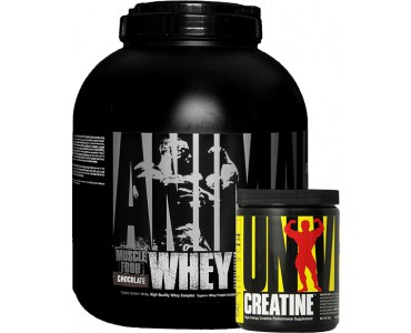 Universal Animal Whey 1810 gr + Creatine Powder 120 gr