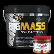 Bigmass GH FACTORS Çikolata (5000 gr) + Fıstık ezmesi hediyeli