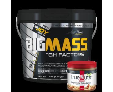 Bigmass GH FACTORS Muz (5000 gr) + Fıstık ezmesi hediyeli