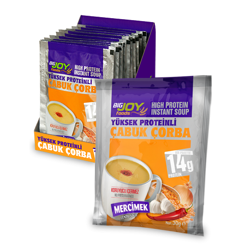 Proteinli Çabuk Çorba