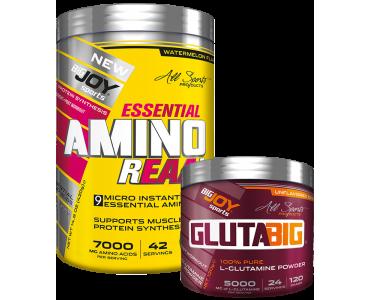 Amino Reaal Karpuz 420g + Glutabig 120g HEDİYE