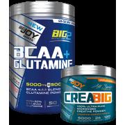 BIG2 BCAA-GLUTAMINE Karpuz 600g + Creabig 120g HEDİYE