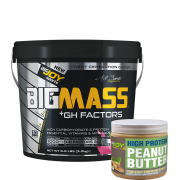 Bigmass GH FACTORS Çilek (3000 gr) + Fıstık ezmesi hediyeli