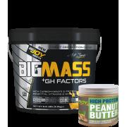 Bigmass GH FACTORS Muz (3000 gr) Fıstık ezmesi hediyeli