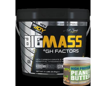 Bigmass GH FACTORS Muz (5000 gr) Fıstık ezmesi hediyeli