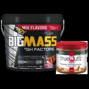 Bigmass GH Factors+Truenuts Crunchy Fıstık Ezmesi 340g