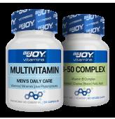 Bigjoy Vitamins Multivitamin Mens + B-50 Complex
