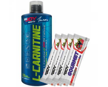 BigJoy L-Carnitine Likit + 4 Adet Protein Bar Hediye