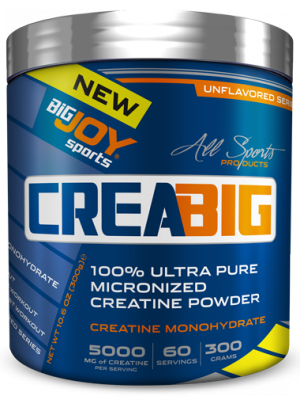 CreaBig %100 Micronized Creatine Monohyrdrate Powder