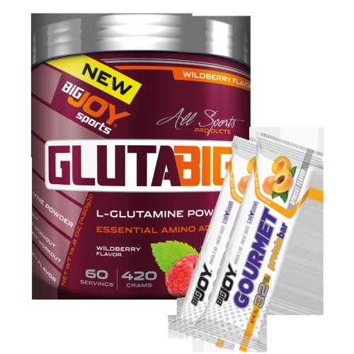 Glutabig %100 Glutamine Powder Orman Meyveli