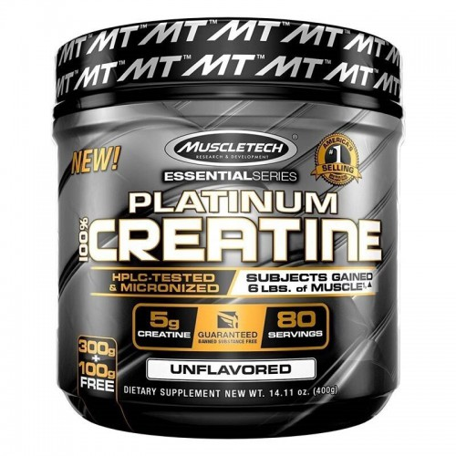 Platinum %100 Creatine Powder